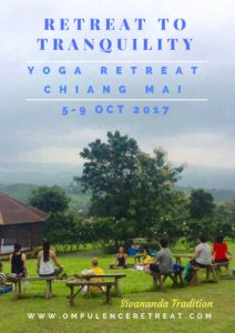 Chiang Mai Retreat 2017 Flyer 1